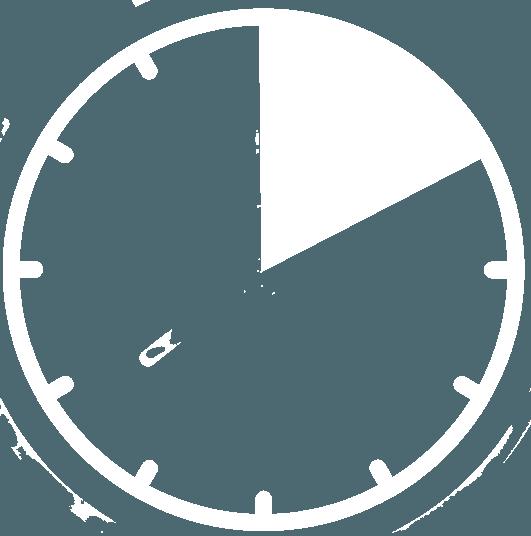 clock Da inserire bianco 4,5