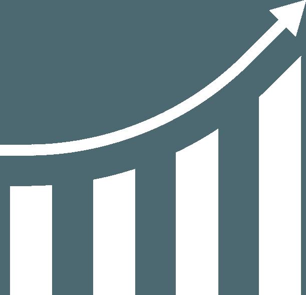 FACILE economicamente sostenibile icona bianca
