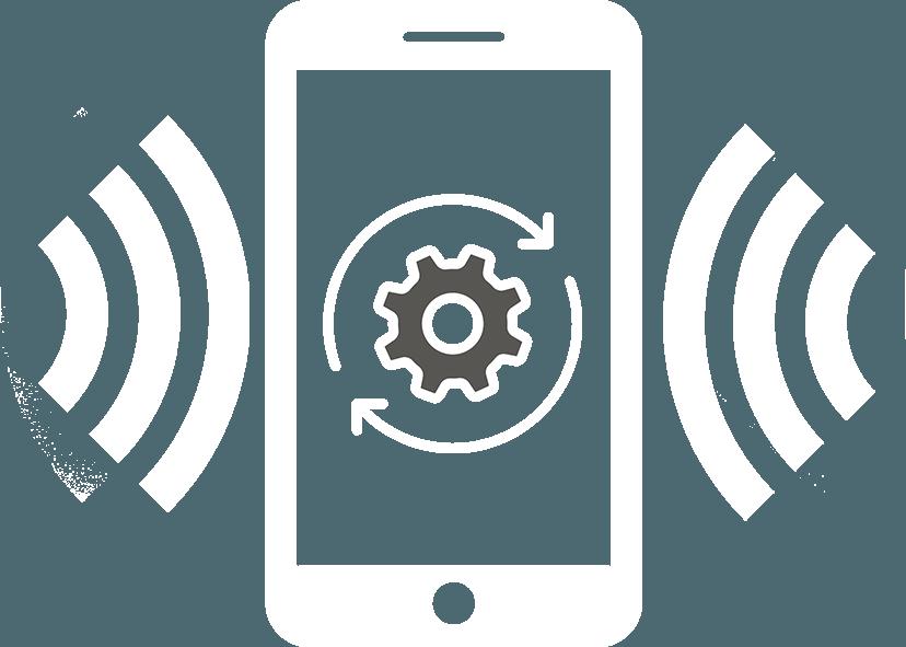 FACILE monitoring icona bianca