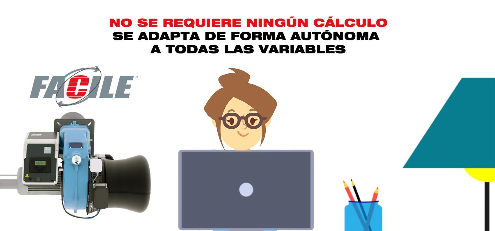 FACILE CIB Unigas se adapta de forma autónoma a todas las variables